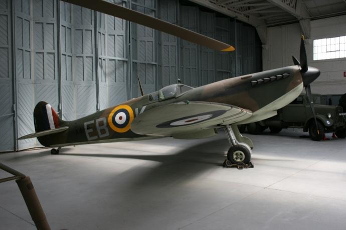 Supermarine Spitfire Battle of Britain 1940 IWM Duxford