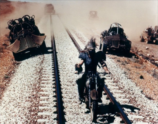Mad Max Mel Gibson Beyond Thunderdome Chase Train