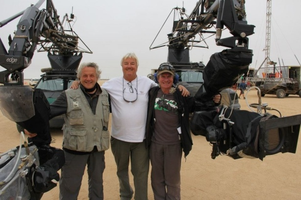 George Miller on the set of Mad Max 4