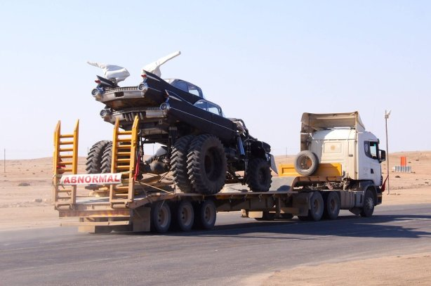 Mad Max 4 vehicles Giga Horse - Namibia