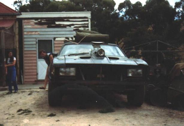 Mad Max Mel Gibson Road Warrior Ford Falcon XB V8 Interceptor