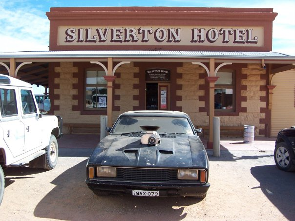 Mad Max Mel Gibson Road Warrior V8 Interceptor Silverton NSW