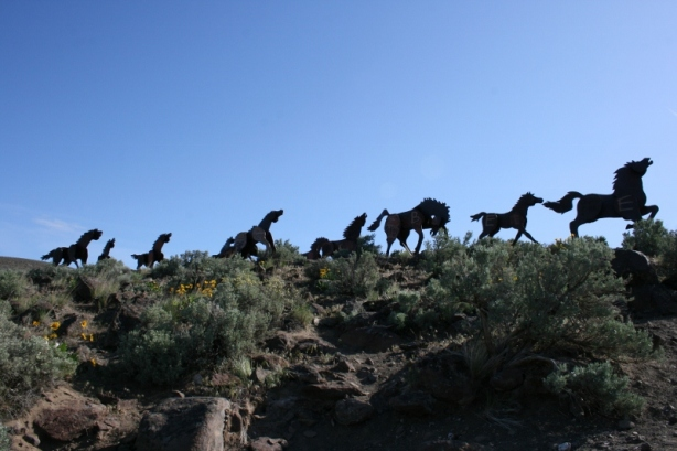 Wild Horses Monument Vantage Washington