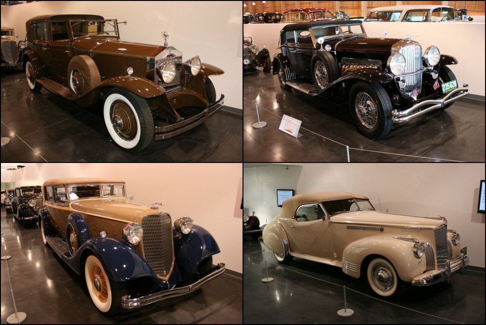 LeMay Americas Car Museum Custom Coachworks Deusenberg Rolls-Royce Packard