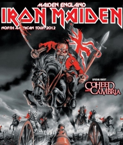 Iron Maiden Maiden England North America Tour 2012