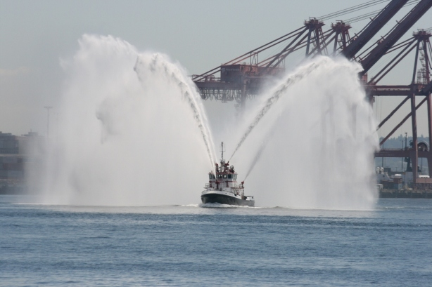 Fire Fighting Tug Boat Seattle