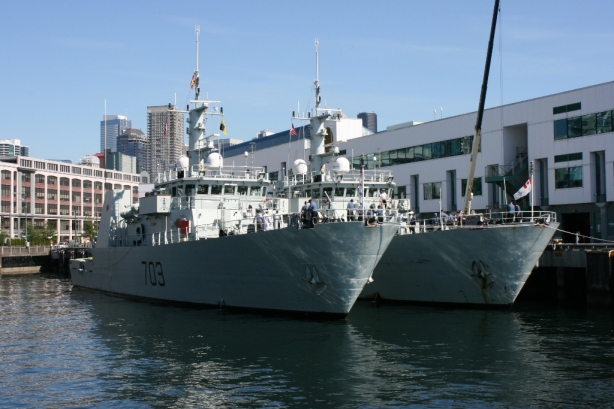 HMCS Nanaimo Edmonton Docked Seattle 2012
