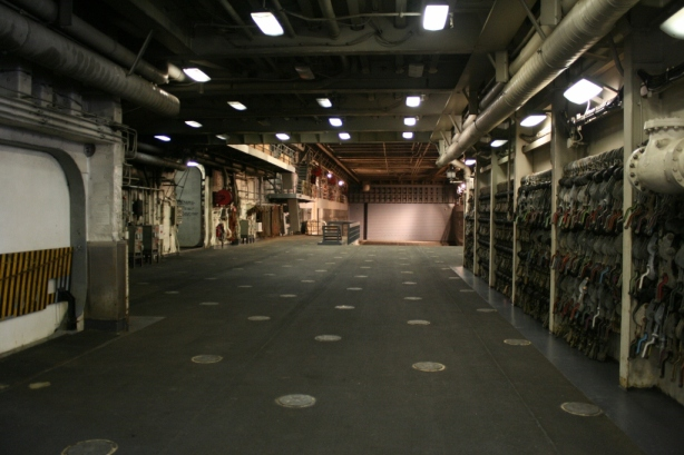 Storage Hold USS New Orleans (LDP 18)