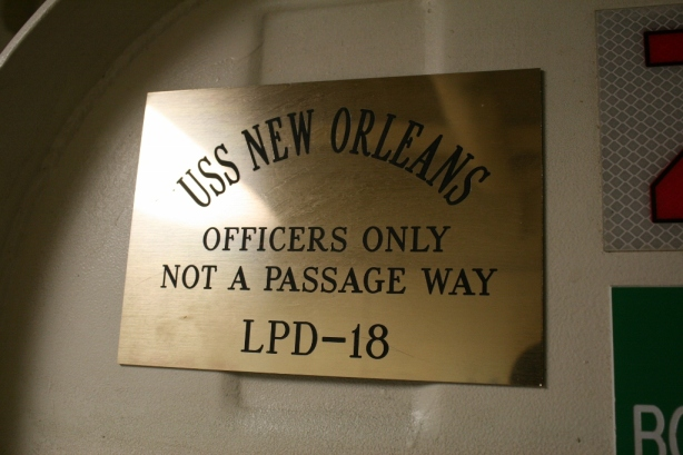 USS New Orleans LPD 18 Officer Mess