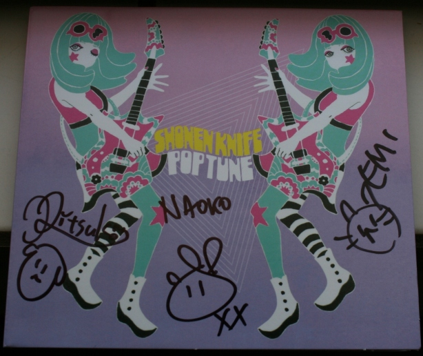 Shonen Knife Pop Tune 2012
