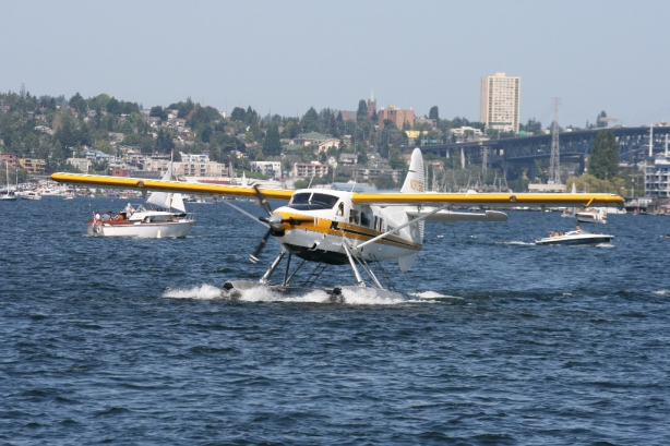 De Havilland Canada Otter float plane Lake Union Seattle