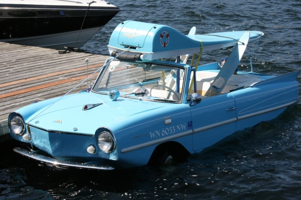 Amphicar Lake Union Seattle