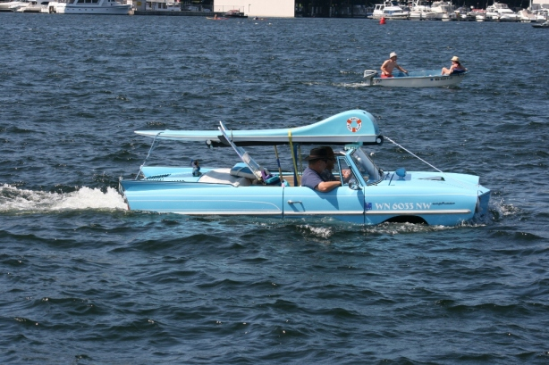 Amphicar Lake Union Seattle Washington