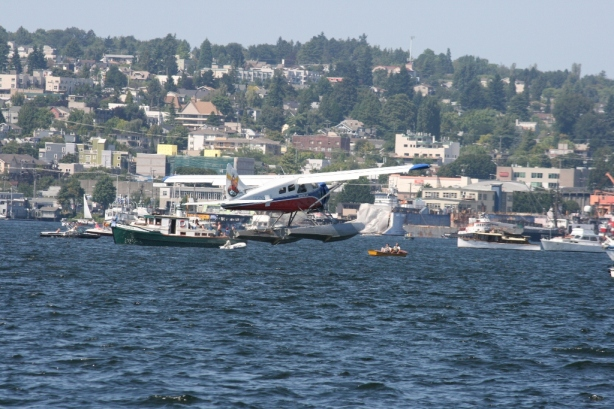 De Havilland Canada DHC-2 Beaver Lake Union Washington