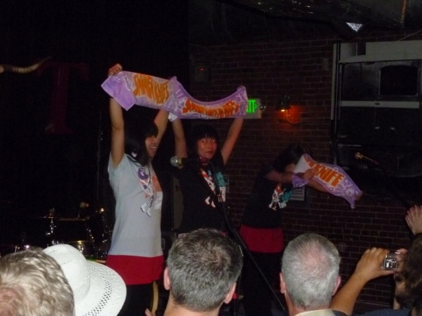 Shonen Knife Pop Tune Seattle 2012
