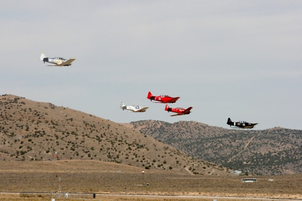 Reno Air Races T-6 Texan