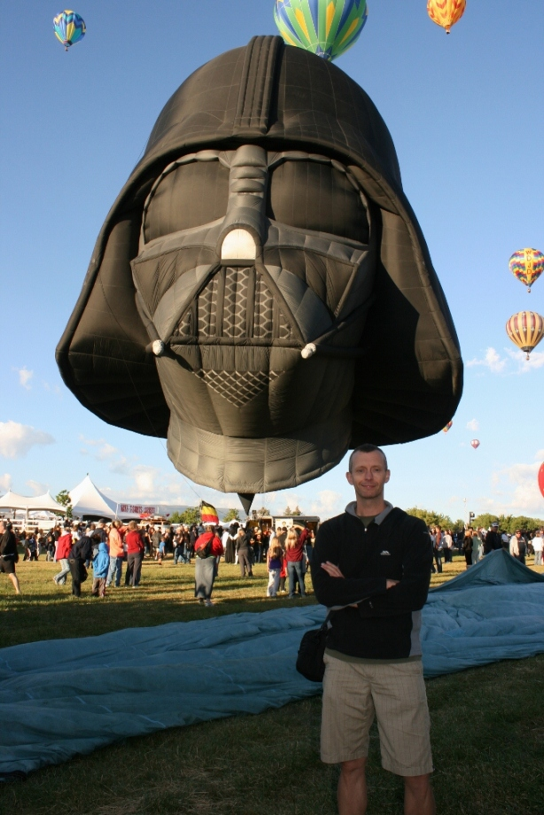 Darth Vader Balloon Reno Nevada 2012