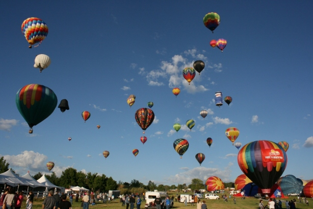 The Great Reno Balloon Races 2012