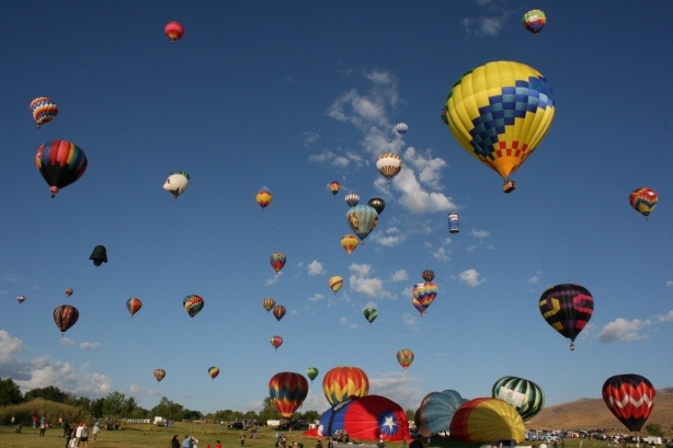 Reno, Nevada USA Hot Air Balloons