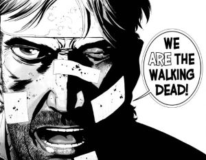 Rick Grimes The Walking Dead Comic