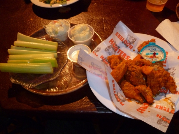 Buffalo Wings Hooters Casino Las Vegas NV