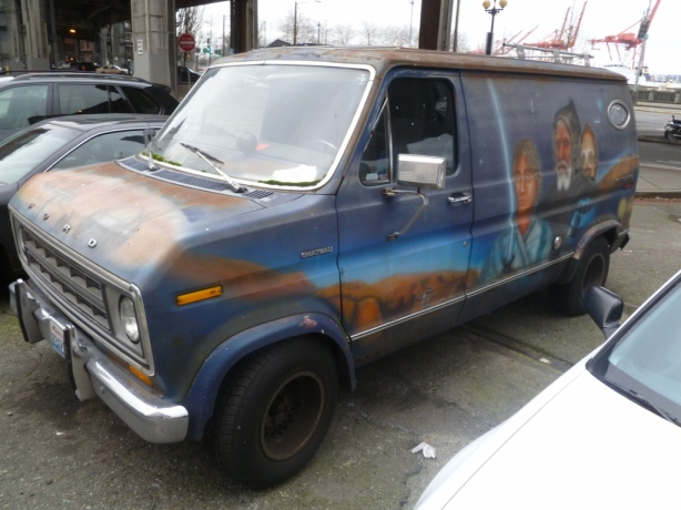 Star Wars Van Seattle