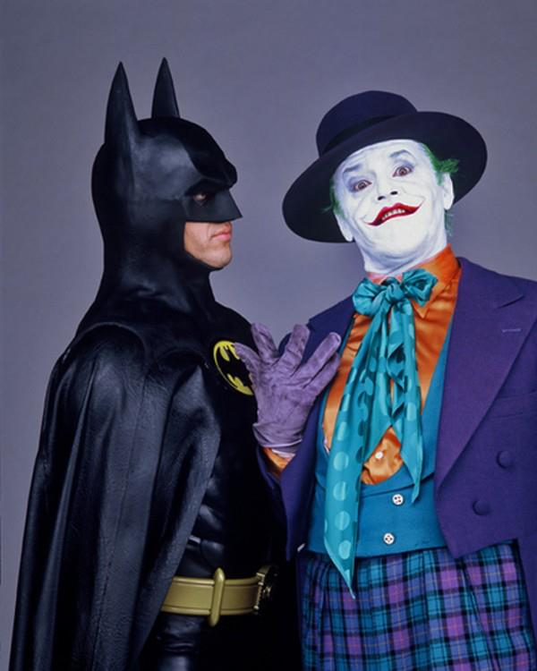 Batman 1989 Michael Keaton The Joker publicity shot