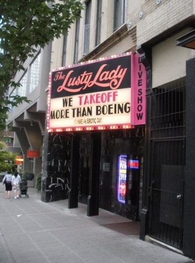 The Lusty Lady Seattle