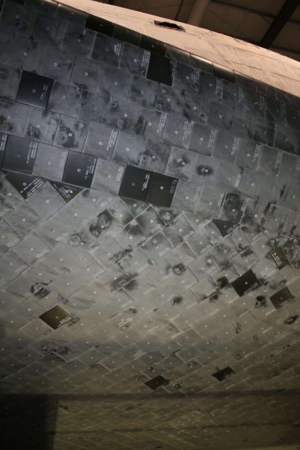 Space Shuttle Endeavour Heat Shield