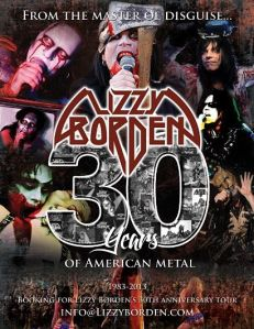 Lizzy Borden 30 years American Metal 2013