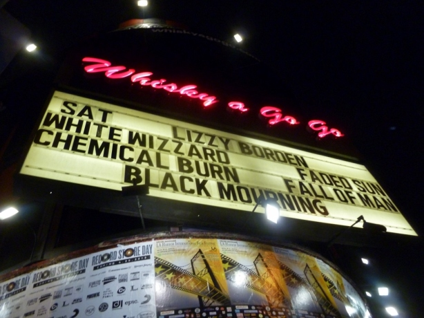 Whisky A Go Go Lizzy Borden Hollywood 2013