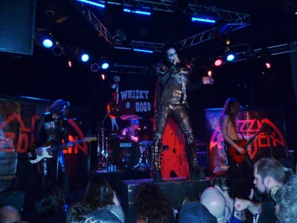 30 years of American Metal Lizzy Borden 2013 Whisky a Go Go