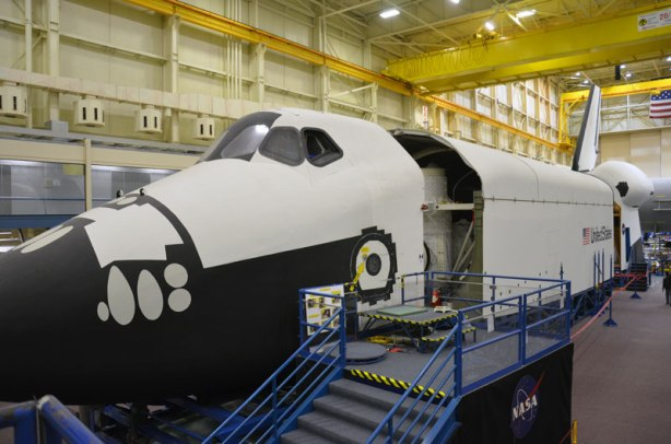 Space Shuttle Trainer at NASA