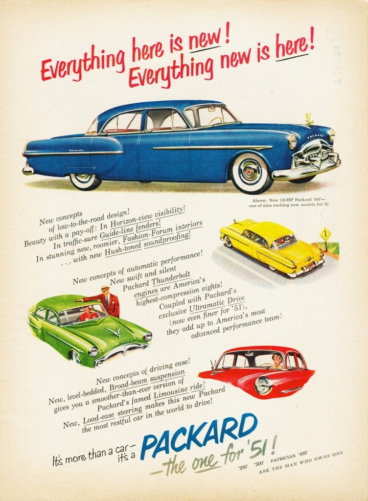 Packard 1951 ad