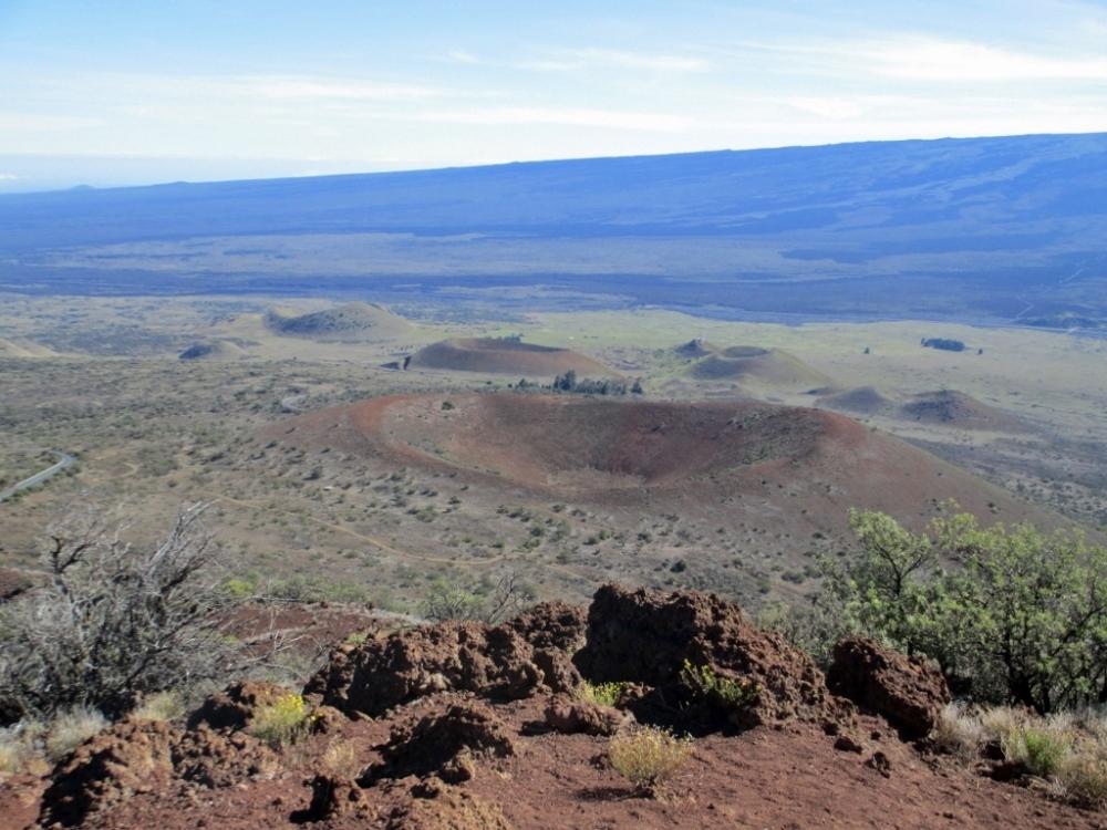 Caldera Mauna Kea Hawaii Volcano