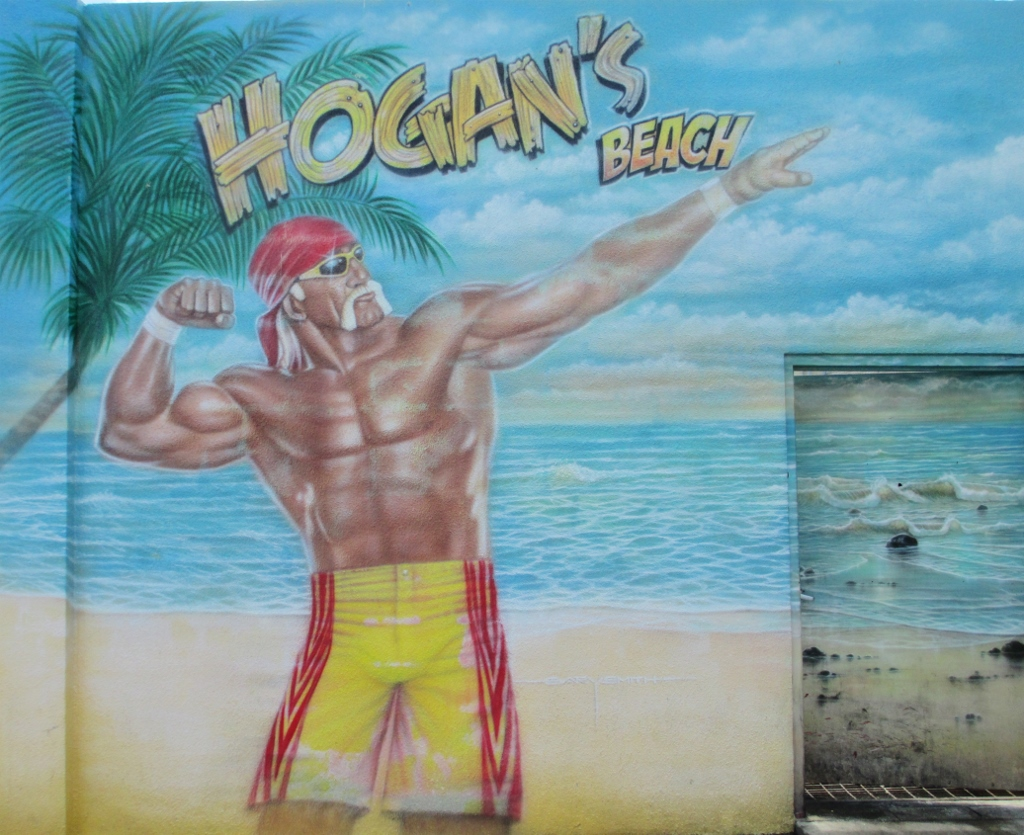 Hulkamania at Hogan's Beach