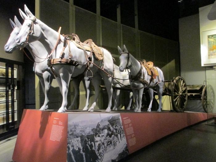 WW1 US Army Mule Wagon Kansas City