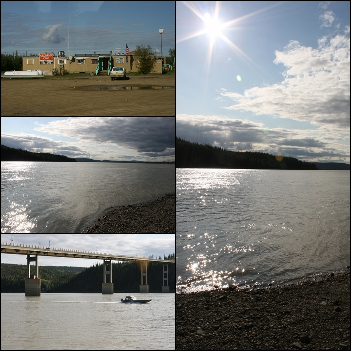 Yukon River Camp Alaska