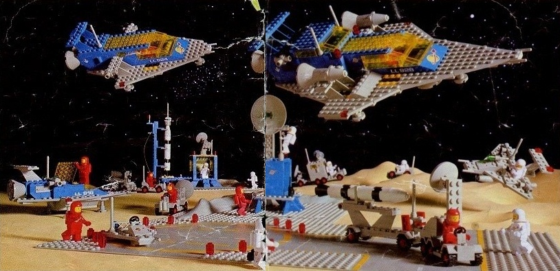 1980's Space LEGO